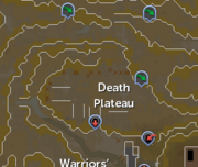 Death Plateau (location) map