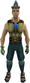 Easy task set equipped (male)