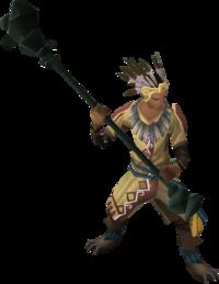 Armadylean bodyguard (mage)