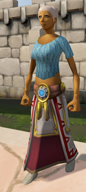 Augmented Second-Age robe bottom equipped