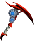 Augmented dragon pickaxe detail