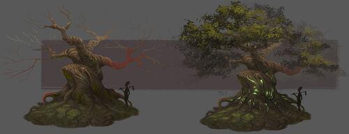 Elder Tree concept art