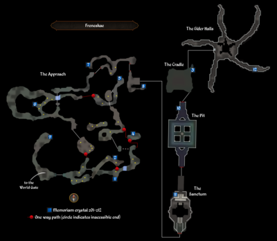 Freneskae map