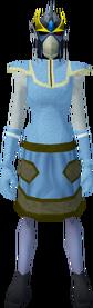 Full slayer helmet (f) (yellow) equipped