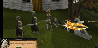 Mercenary axemen