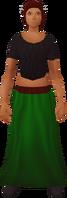 Retro long skirt