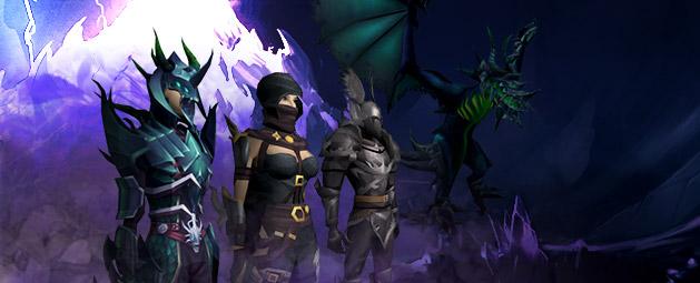 Shadow outfits return update post header