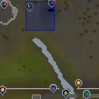 Shooting Star (north of Edgeville) location