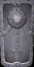 Steel sq shield detail
