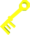 Key (yellow) detail