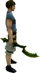 Khopesh of Tumeken (barrows) equipped