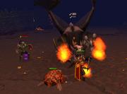 King Black Dragon fight