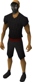 Mask of Sliske, Shadow equipped