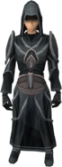 Robes of Sorrow outfit equipped (female)