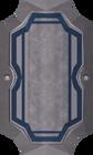White sq shield detail