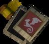 Dragon sq shield ornament kit (or) detail