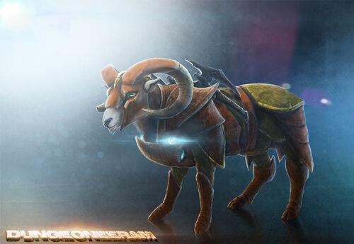 Dungeoneeram design a pet news image