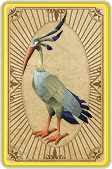 File:Preening ibis card detail.png