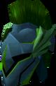 Rune full helm (Guthix) detail