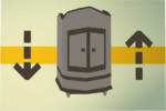 Teak armour case (flatpack) detail