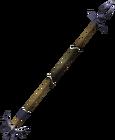 Zamorakian spear detail