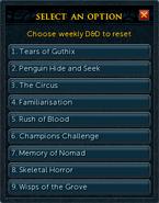 D&D token (weekly) options