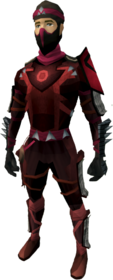 Death Lotus armour equipped