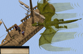Dragon Slayer Elvarg flies overhead.png
