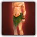 Grass skirt icon (male)