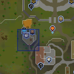 Guilda dos Cozinheiros mapa