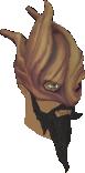 Splitbark helm chathead
