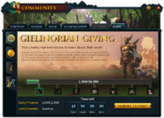 Community (Gielinorian Giving) interface 1