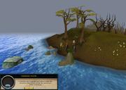 Conversando com a Estatua Submersa