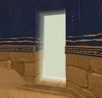 Exit Entrance Door
