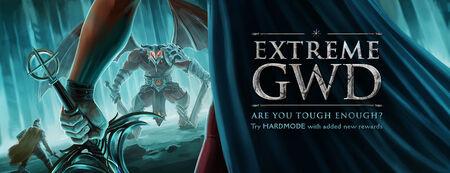 Extreme God Wars banner