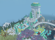 Prifddinas Cadarn district