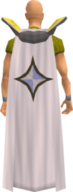 Retro prayer cape equipped
