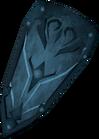 Rune kiteshield detail