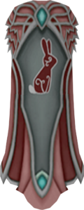Clan Hefin cape detail
