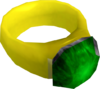 Emerald ring (i) detail