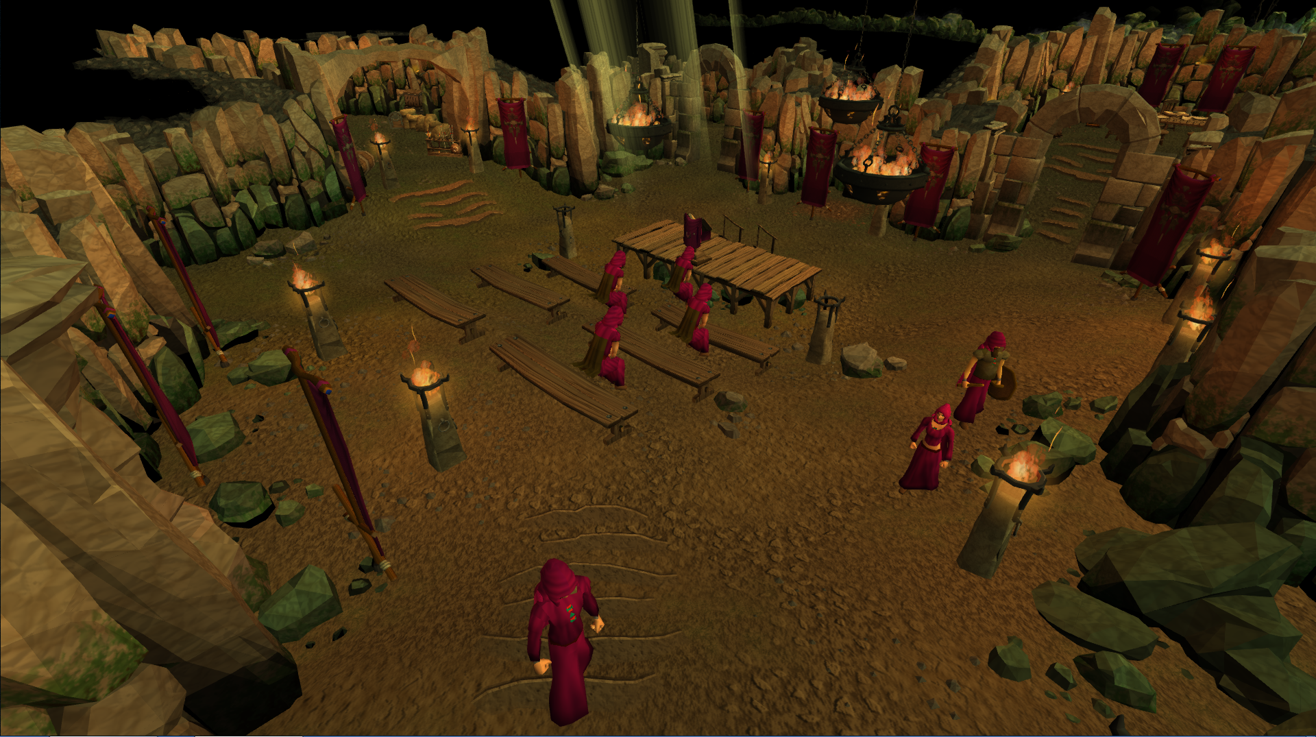 how to start solo dungeon runescape