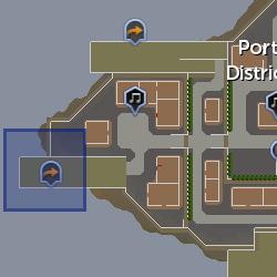 Portmaster Kags location