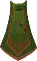 Ranged master cape detail