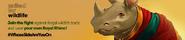 Royal Rhino hunting lobby banner