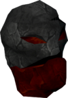 Ruby golem head detail