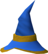 Wizard hat (g) detail
