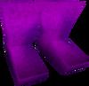 Boots (purple) detail