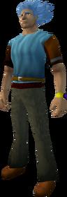 Combat bracelet equipped