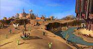 Deserto Karidiano visto em HTML5