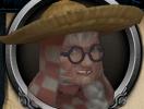 Granny Potterington chathead